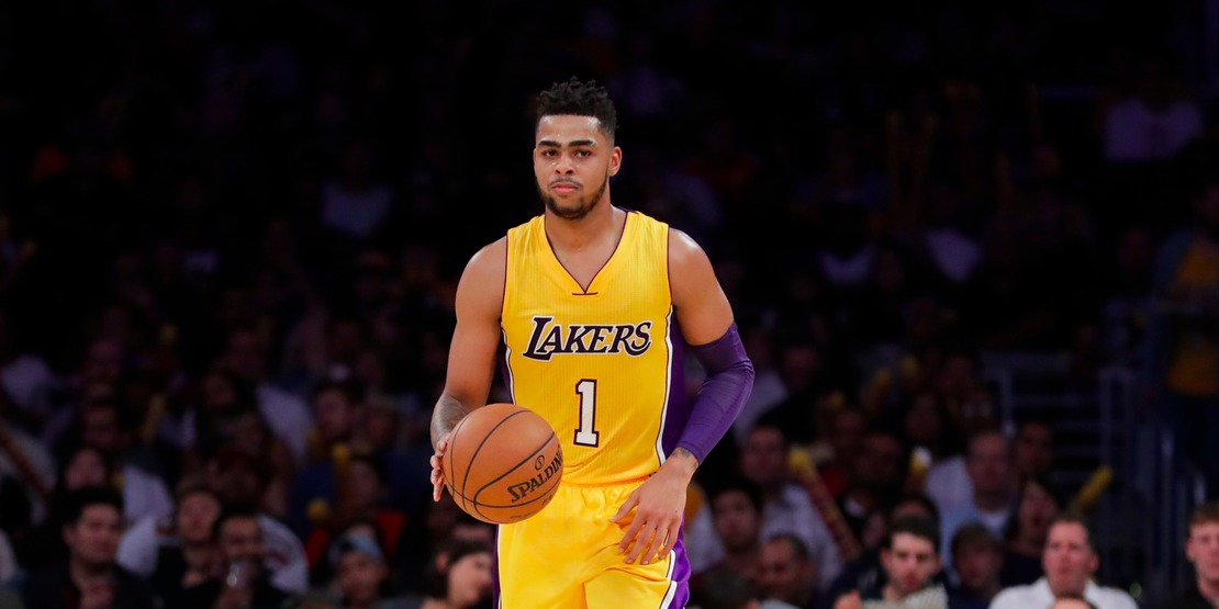 Dangelo Russell Honors The Late Muhammad Ali With An