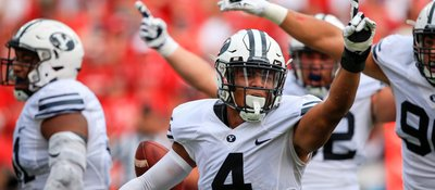 Watch This BYU Player's Epic Pick-6