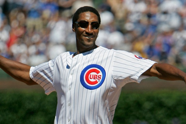 Cubs Make It To World Series Despite Scottie Pippen's Awful Singing