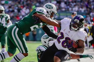 Check Out How Depressing The Baltimore Ravens' Rushing Performance Was On Sunday