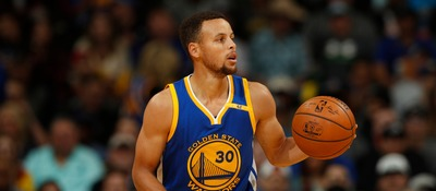 Watch As Steph Curry Nails a 75 Foot Three-Pointer